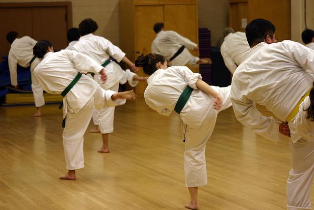 Gaining Confidence Through Karate