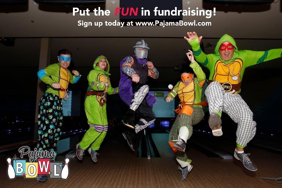 pajama bowl fundraising